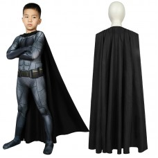 Justice League Batman Jumpsuit Cosplay Costume For Kids
