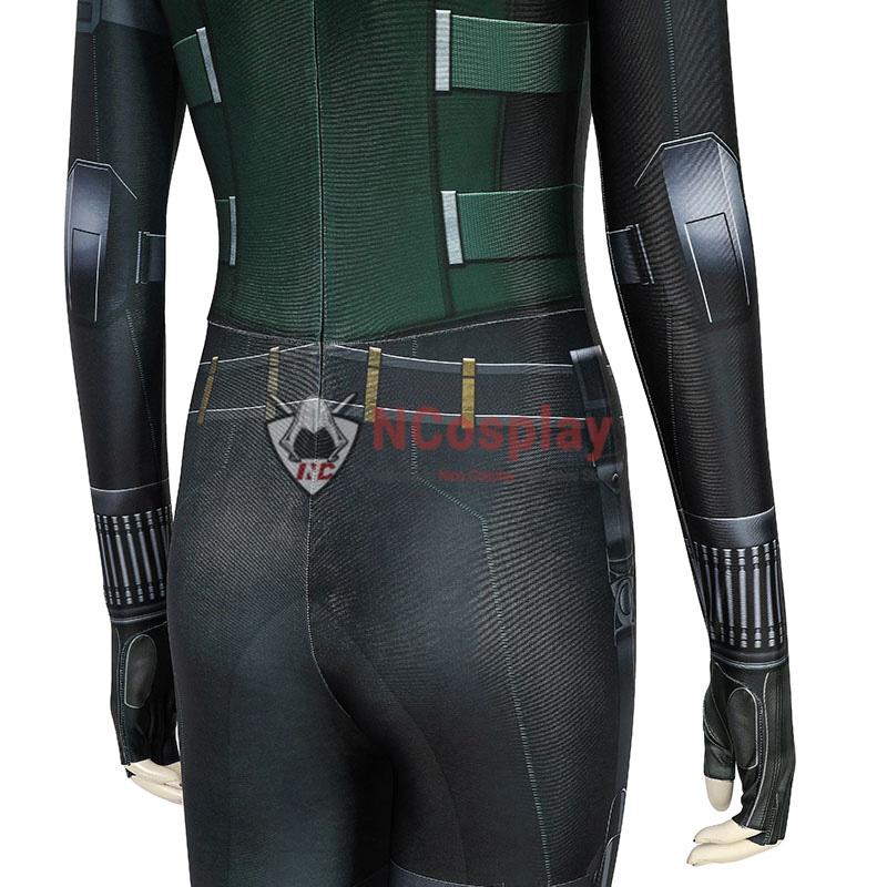 Avengers Infinity War Cosplay Costume Black Widow Natasha Romanoff Jumpsuit
