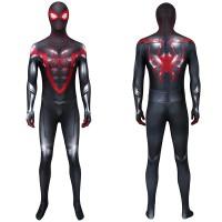 Spider Man PS5 Miles Morales Cosplay Costume Spiderman Jumpsuit